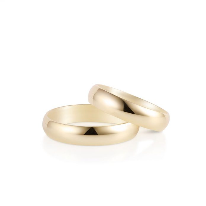 Obrączki ślubne złote